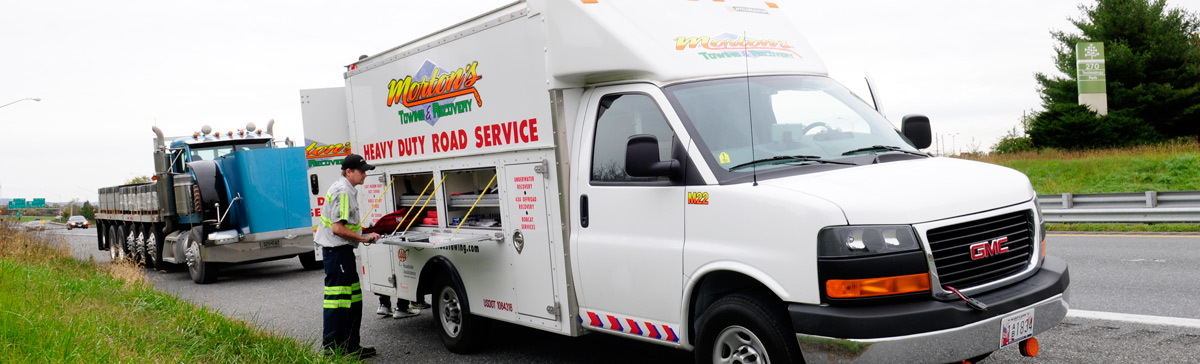 Heavy-Duty Road Service-Maryland