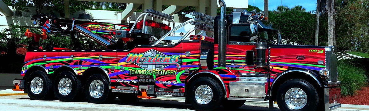 Truck- Maryland Recovery Service- Light and Heavy Duty